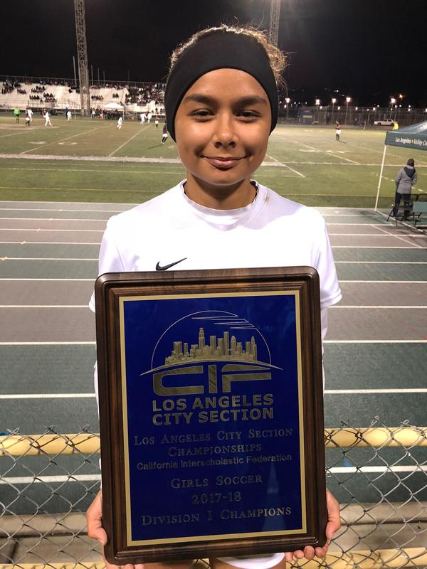 SJW Alumna Wins CIF Championship in Soccer Featured Photo