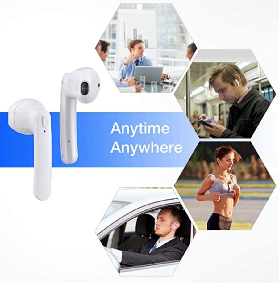 Ad for fake air pods