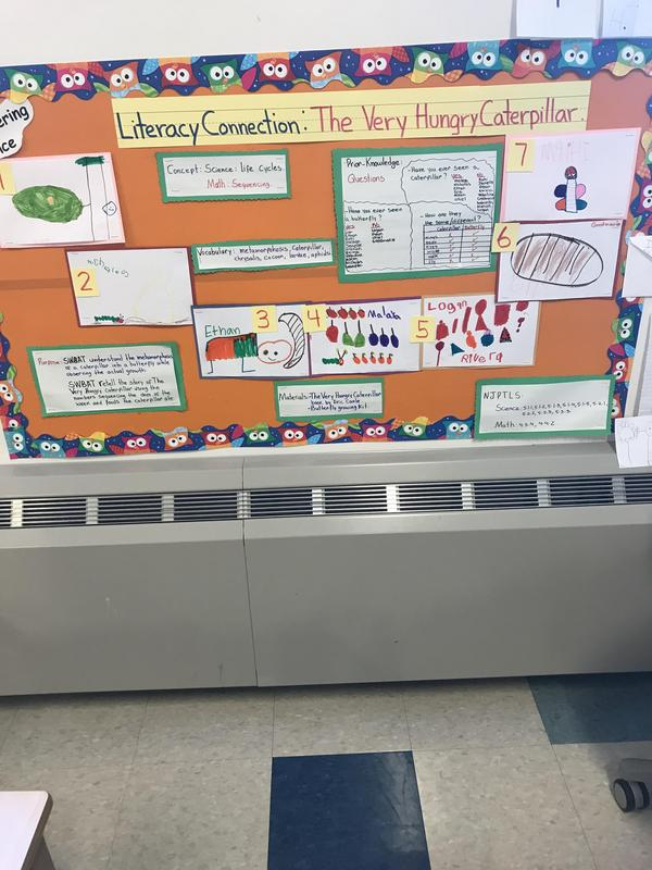 hungry caterpillar literacy connection