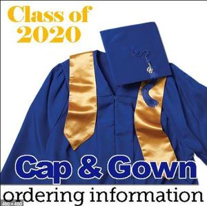 cap & gown order info