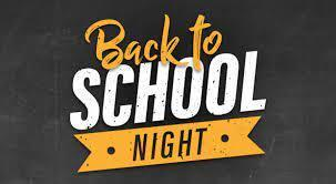 BACK TO SCHOOL NIGHT! Featured Photo