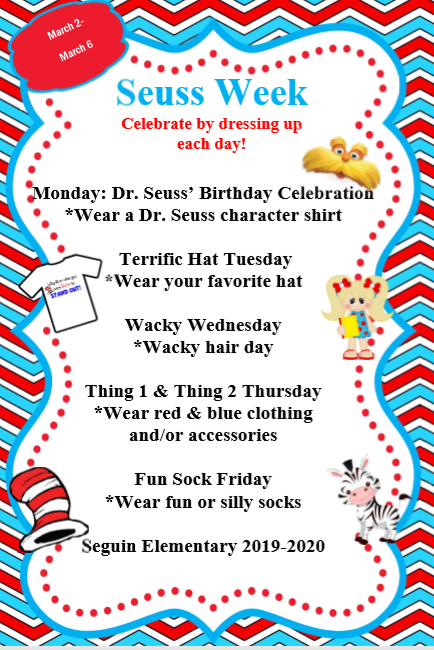 Dr. Seuss Week Eng