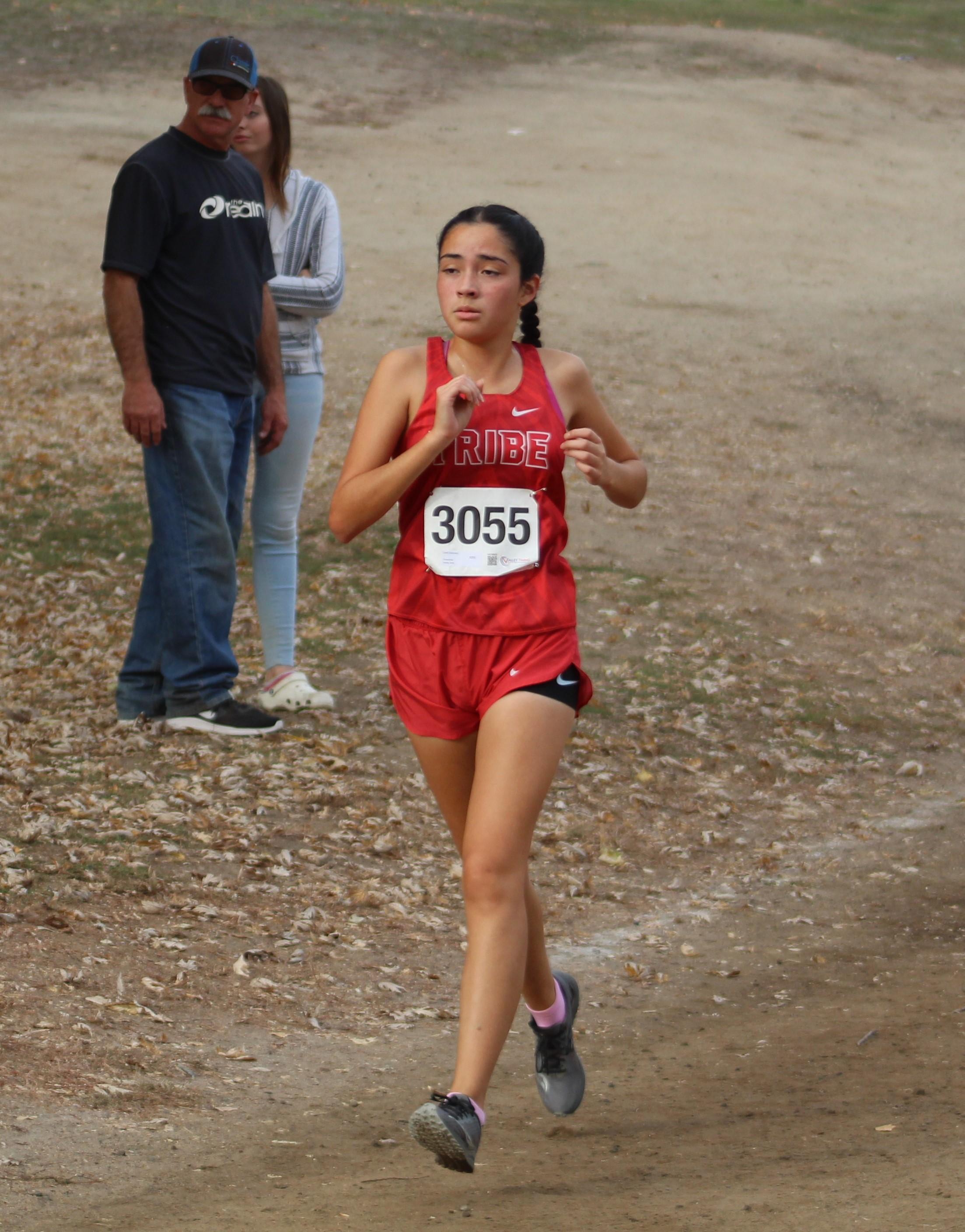 Lizeth Solorzano running