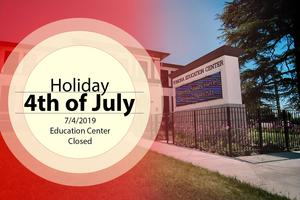 4th of July Holiday - School Offices Closed