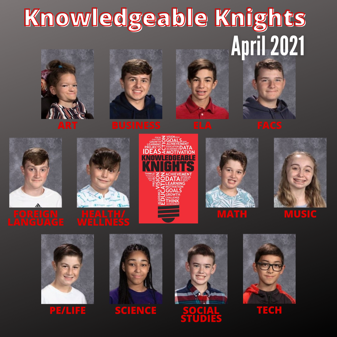 April Knowledgeable Knights