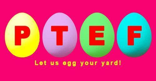 PTEF Eggs fundraiser
