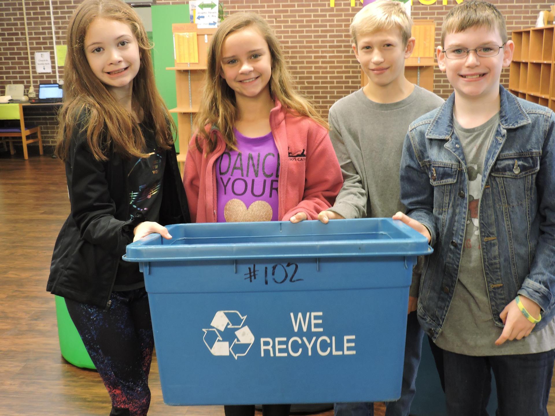 Recycle Crew Student Ambassadors