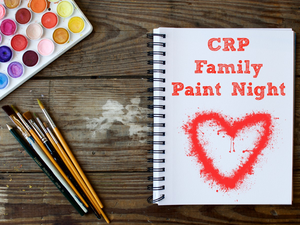 CRP paint night pic (paint brushes, paint)