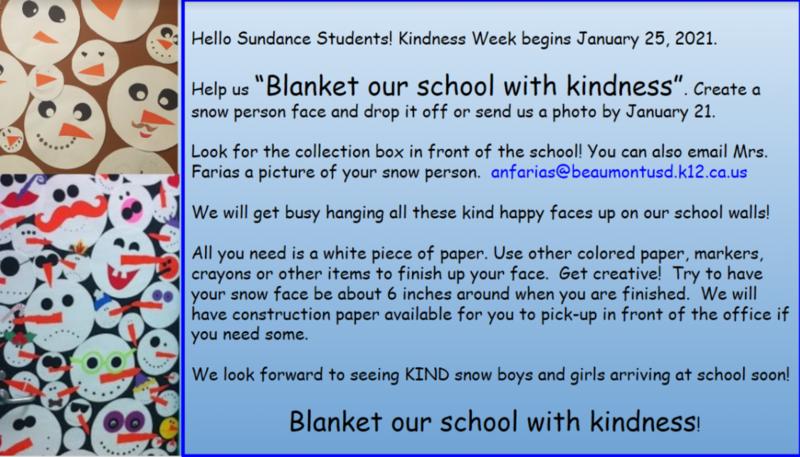 Kindness Week project