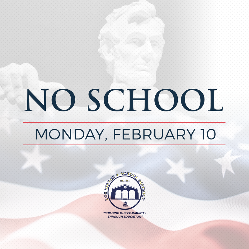 No School, Monday February 10 Featured Photo