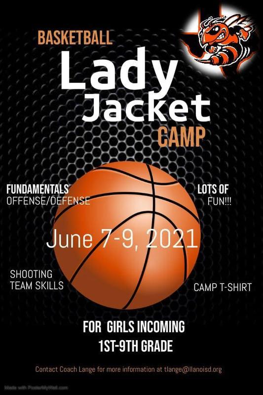 Lady Jacket Bball Camp Flyer