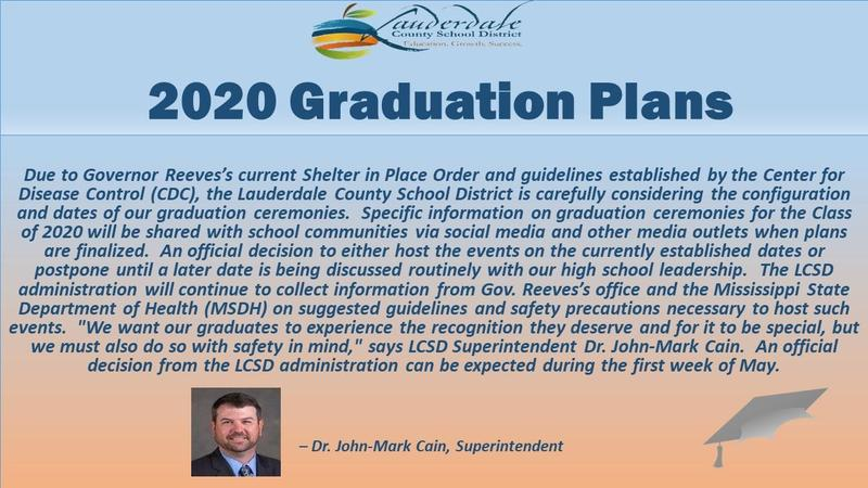 LCSD Graduation Plans Graphic
