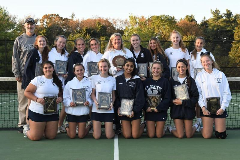Varsity Girls' Tennis wins Third League Championship Featured Photo