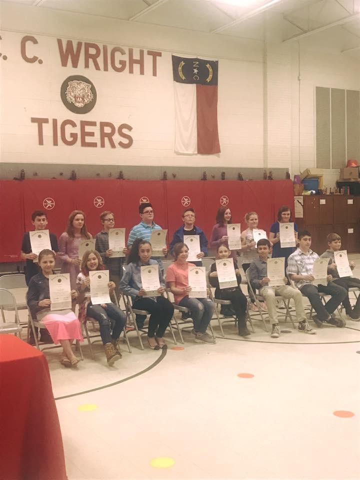 Beta Club inductees