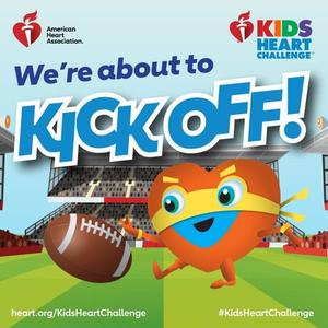 The Kids Heart Challenge is About to Kickoff!