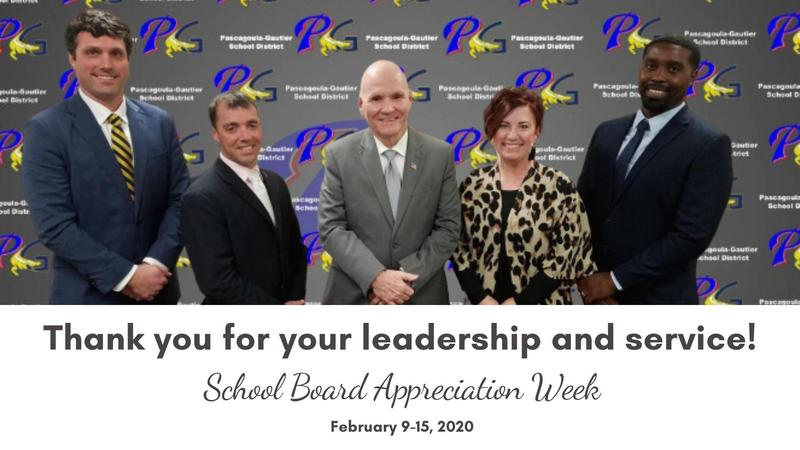 School Board Appreciation Week!