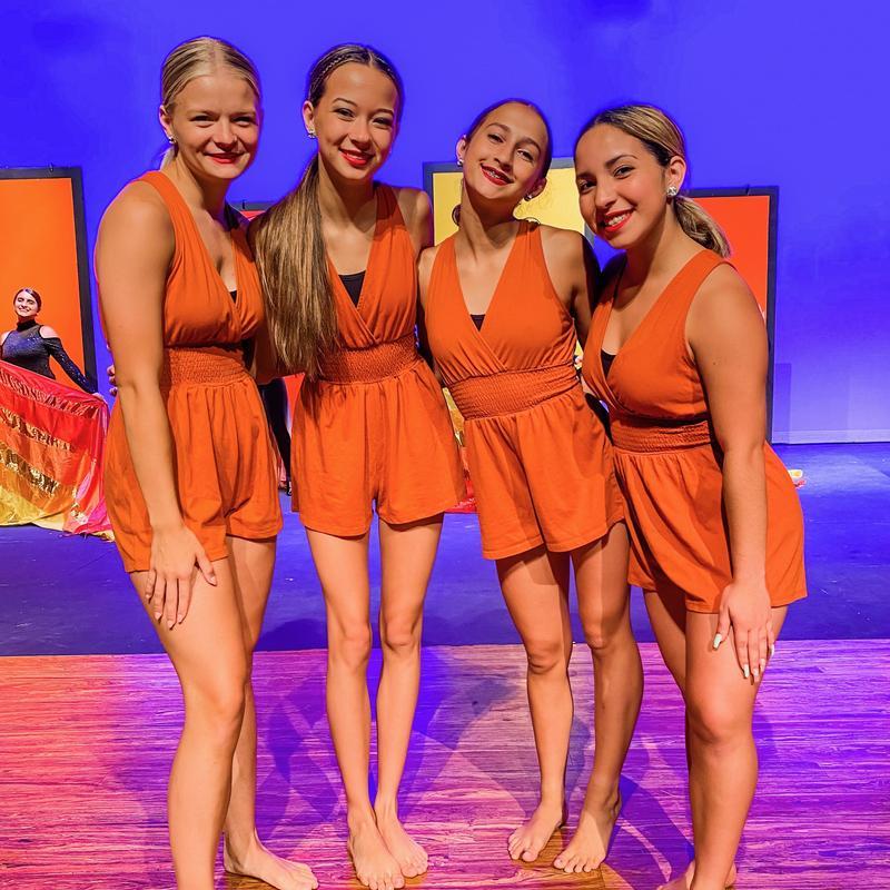 CLHS Emerald Dance Team Officers