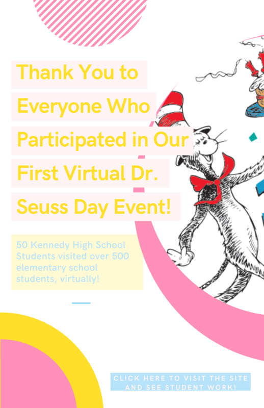 Great Work Students for a Successful Dr. Seuss Day Event! Featured Photo