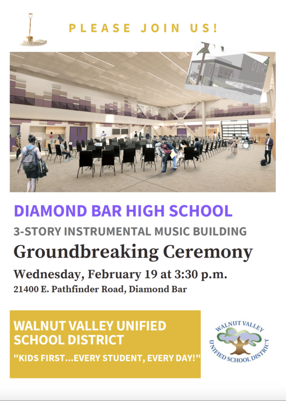 Diamond Bar High Groundbreaking Ceremony Slated for Feb.19 Featured Photo