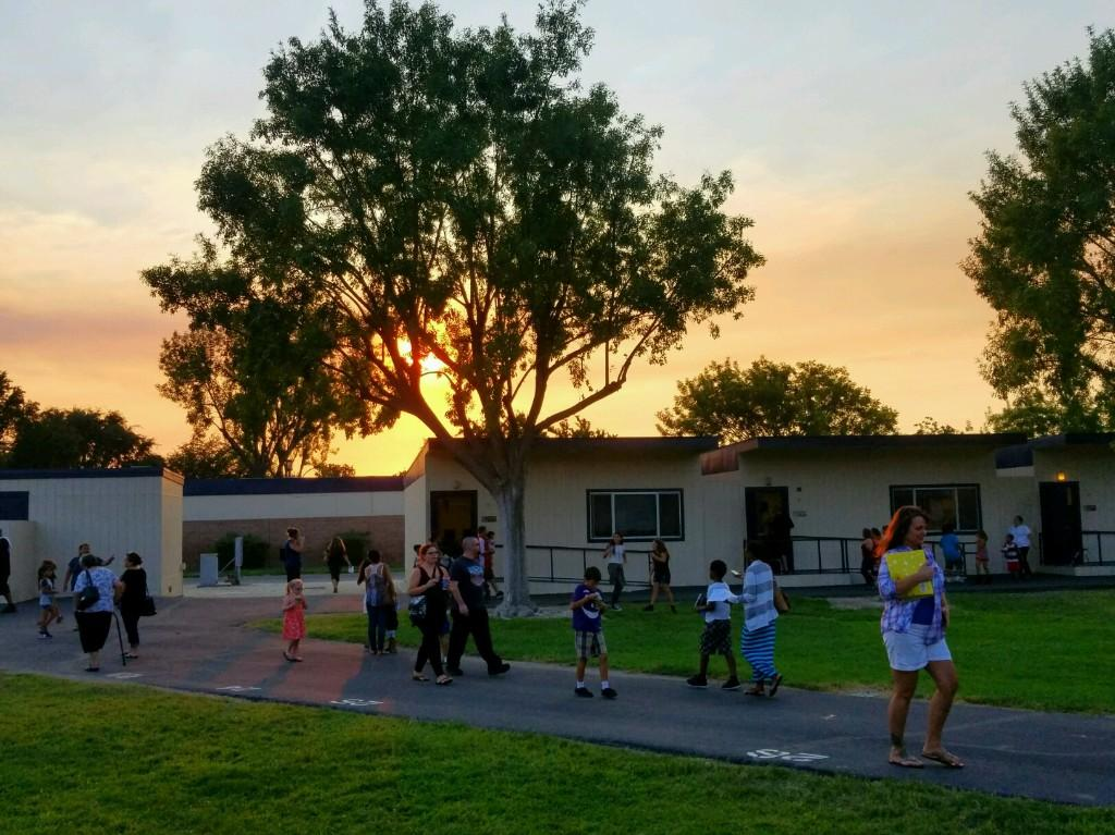 Gorgeous day at Park Hill Elementary