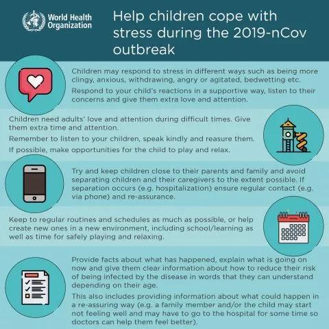 Helping Children Cope with Stress during 2019-nCOv Outbreak