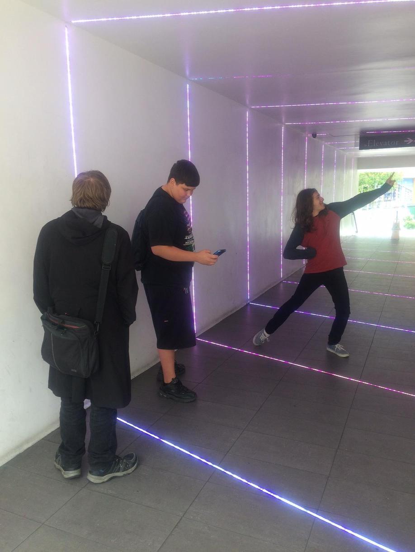 Laser Light Tunnel