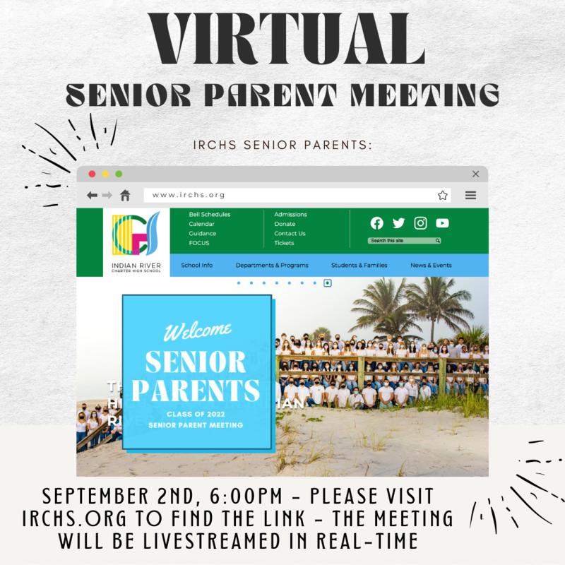 Virtual Senior Parent Meeting Recorded Featured Photo