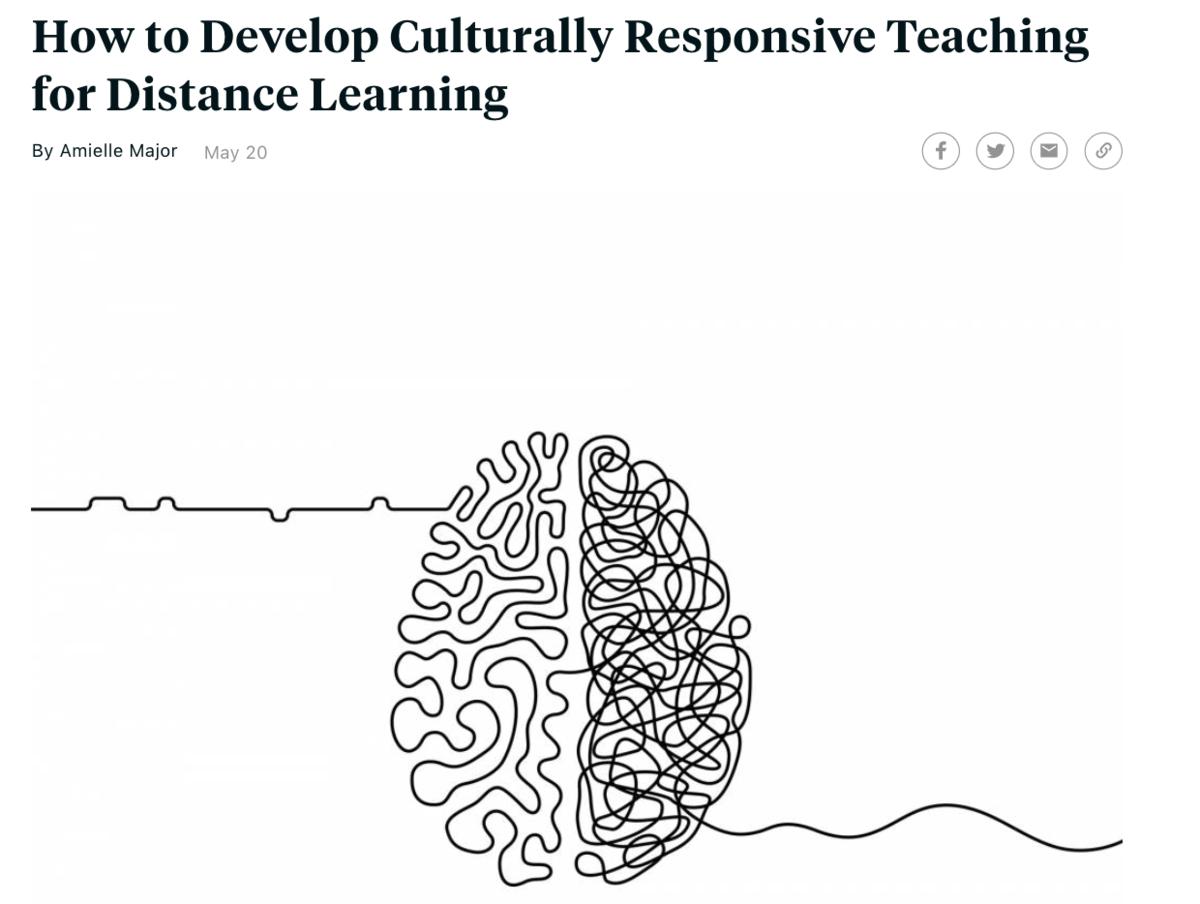 Culturally Responsive Teaching