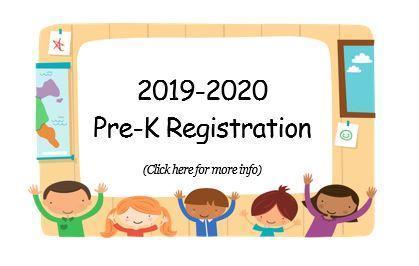 Pre-K Registration 2019