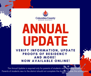 annual update graphic