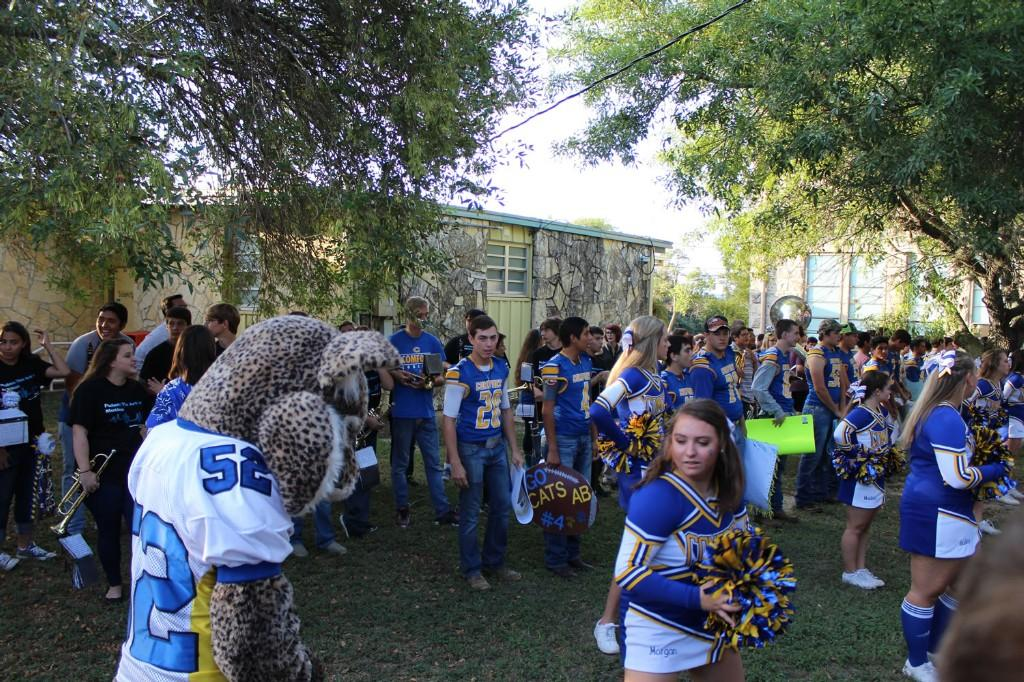 Homecoming 2016 Pep Rally for CHS @CMS