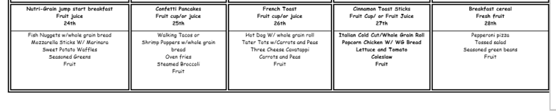 Due to a freezer malfunction, our menu has changed through next week. Featured Photo