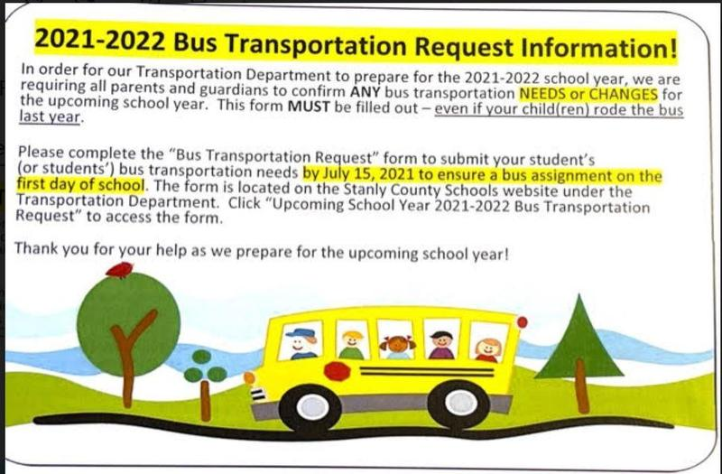 Bus Transportation Request Information Featured Photo