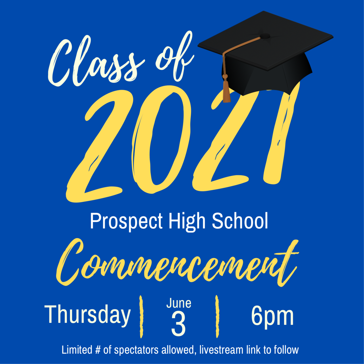 graduation 2021 info