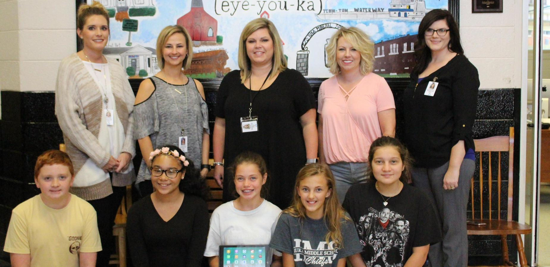 PTA Purchases iPads for Iuka Middle School