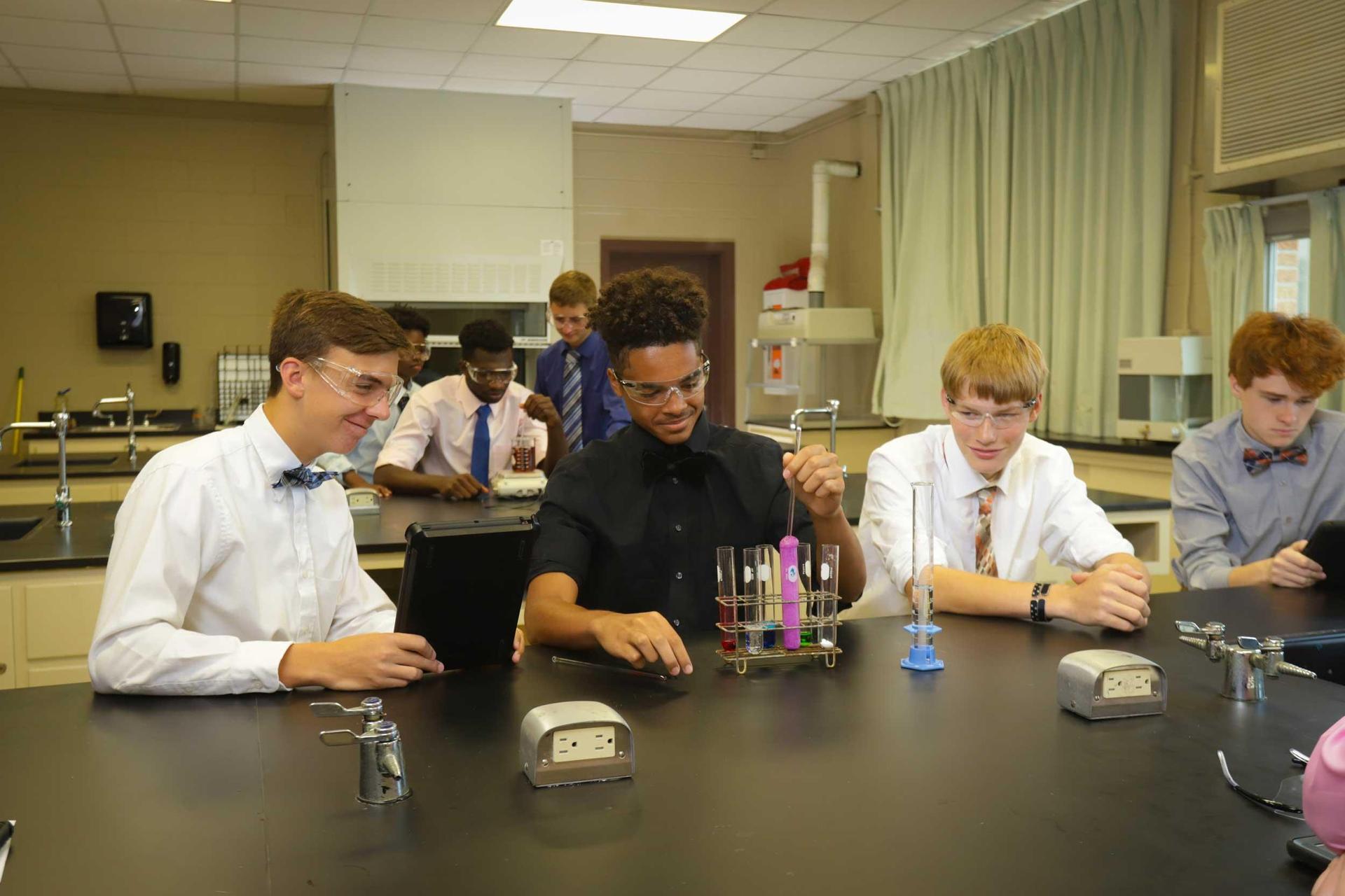 DeSales High School Science Biology Chemistry