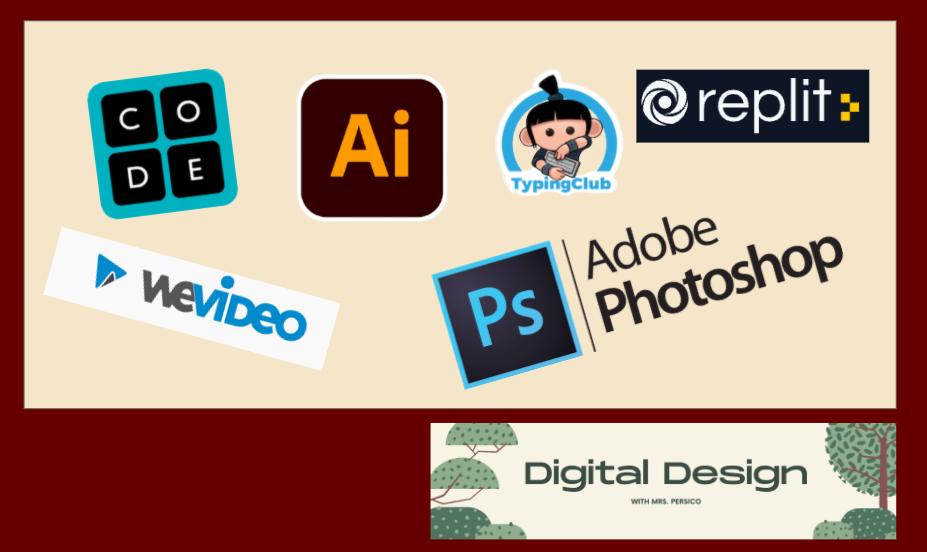 Logos for Programs used in Digital Design