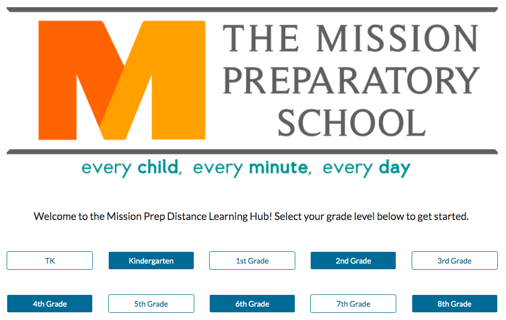 Mission Prep Distance Learning Hub