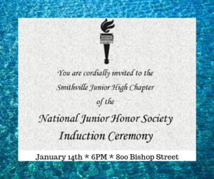 NJHS Invitation