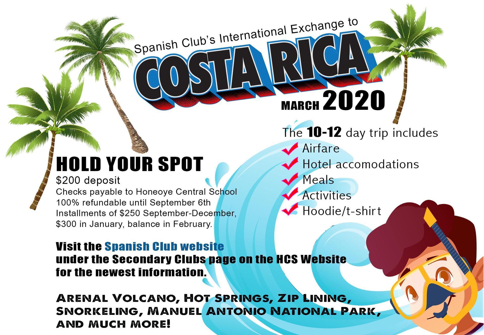 Honeoye Falls Ny December 2020 Calendar Spanish Club – Clubs – Honeoye Central School District