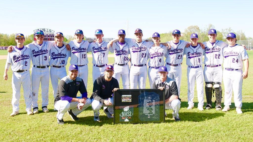 2019 CBC baseball team