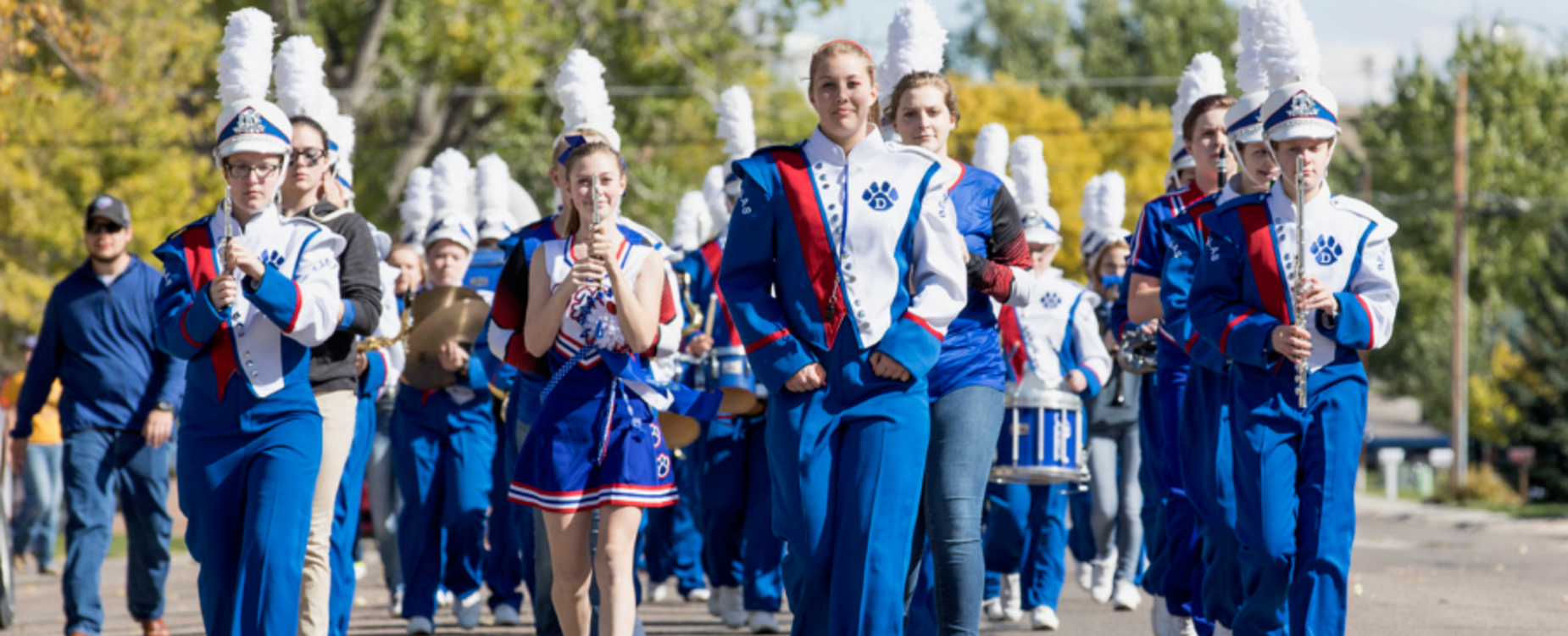 2017 Homecoming Parade - DHS Marching Band