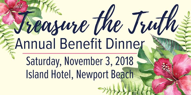 Treasure the Truth Benefit Dinner Featured Photo