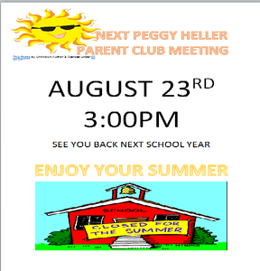 PHPC August Meeting Flyer