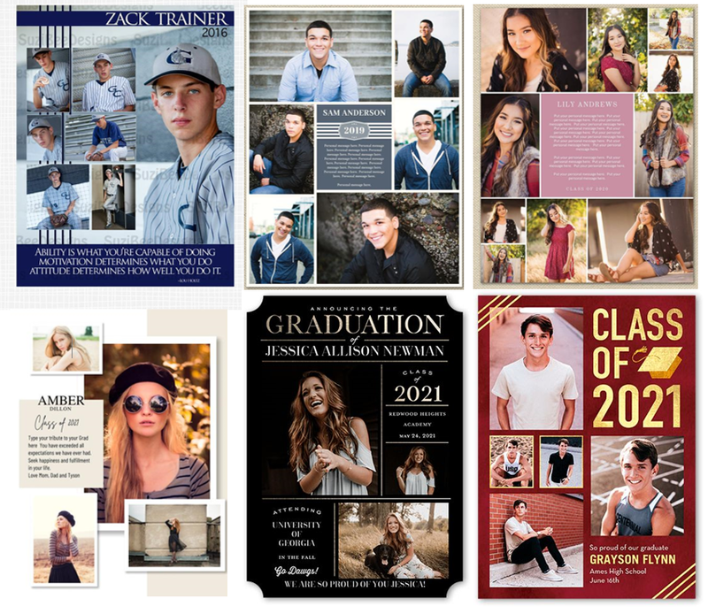 Senior Spotlight Personal Page for the Yearbook Featured Photo