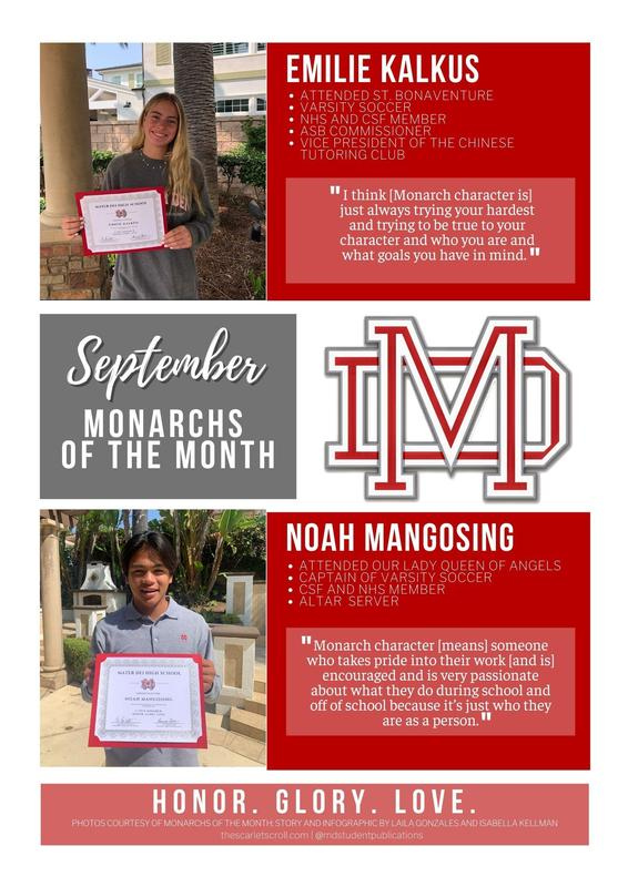 Monarchs of the Month of September! Featured Photo