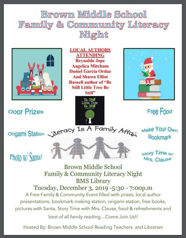 Family & Community Literacy Night