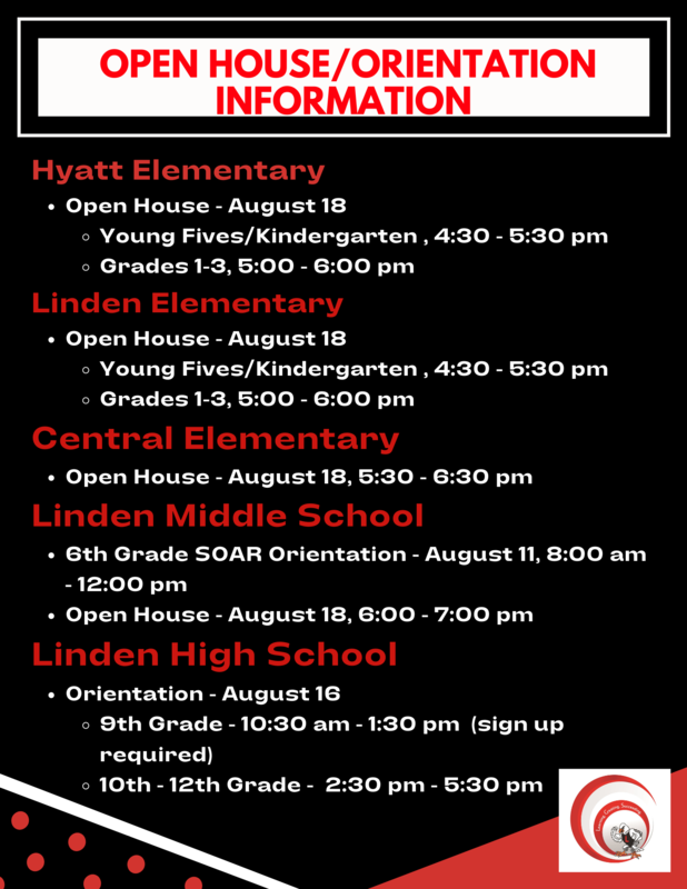 Open House/Orientation Information Thumbnail Image