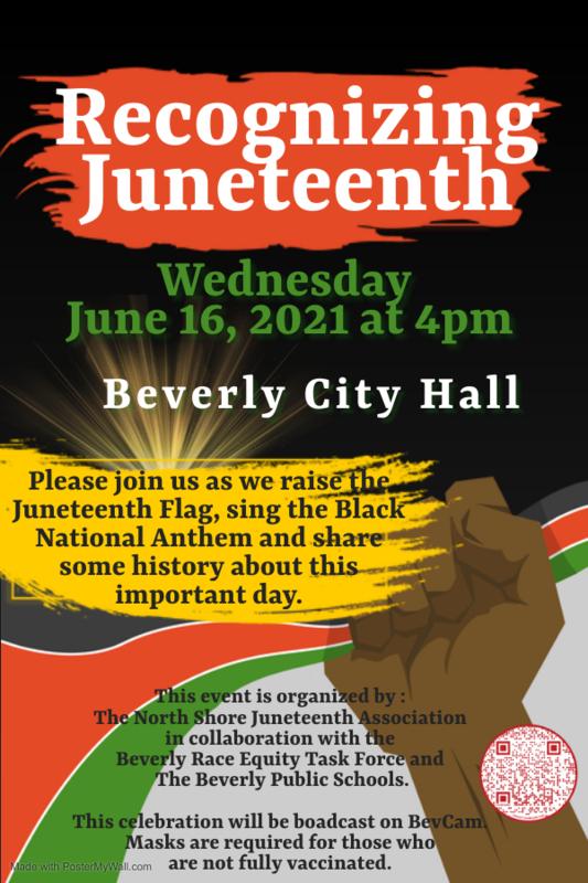 Beverly Juneteenth Flyer