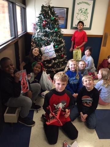 Students Stock Up on Gifts at Santa's Workshop Thumbnail Image